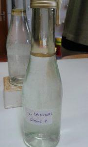 Lavender oil - homemade: yield