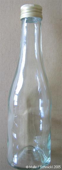 Glass bottle 200 ml