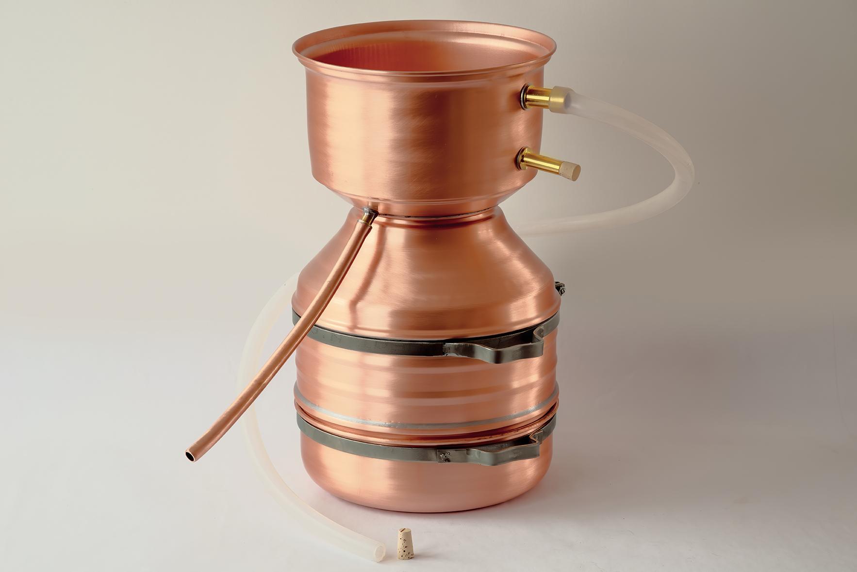 Destille LEONARDO® Flexi 4 Liter: Malle-Schmickl