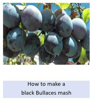 How to make a black bullaces mash