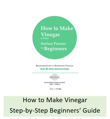 How to make vinegar with the surface process at home? Step-by-step guide